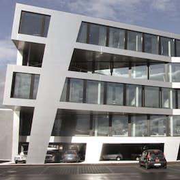 Göpel Electronic, Jena, <br>wurm + wurm architekten, <br>© wurm + wurm