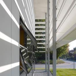 Extension of a school in Warendorf, Germany, m.schneider a.hillebrandt architektur, Cologne, <br>© Christian Richters