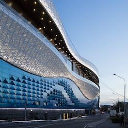Riviera Shopping Mall Moscow, Russia, <br>5 + DesignmLos Angeles, <br>©  Daniel Sumesgutner