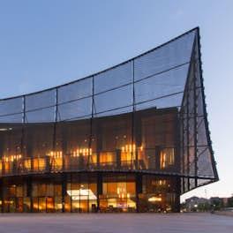 Théâtre Les Cordeliers Albi, France, <br>Dominique Perrault Architecture, <br>© Manuel Panaget