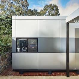 Harwyn Pods, Abbotsford, Australia, <br>Selwyn Blackstone, Armadale, <br>© Harwyn, Chris Daile