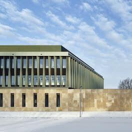 New Fraunhofer Institute for Marine Biotechnology (EMB) Lübeck, Germany, Müller Reimann Architekten Berlin, <br>© Stefan Müller
