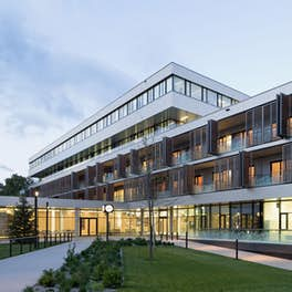Geriatric Care Baumgarten Vienna, Austria, ganahl ifsits architects + silbermayr welzl architects, <br>© Werner Huthmacher