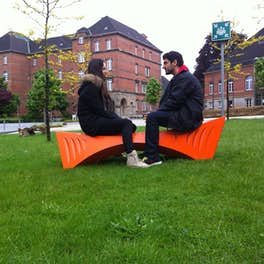 Design Bench, <br>University of Detmold, Germany, <br>© Tal Friedman