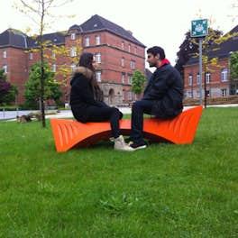 Design Bench, <br>University of Detmold, Germany, <br>© Tal Friedman