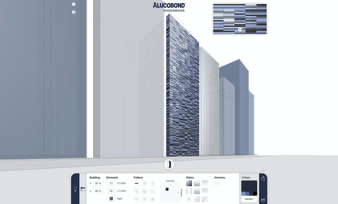 NEW: ALUCOBOND® Designmaker – The tool to create your façade