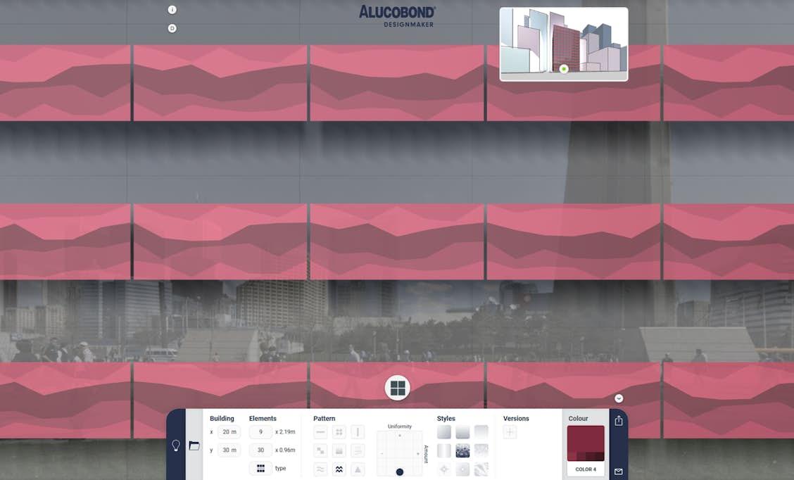 NEW: ALUCOBOND® Designmaker – The tool to create your façade