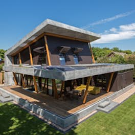 Holiday Home, The Netherlands, <br>Ten Hove Architect
