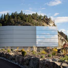Painted Rock Estate Winery, Canada, Fallowfield Design + Development in association with Robert Mackenzie Architect Inc., © Carey Tarr