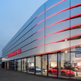 Porsche Zentrum, Germany, © BRANDSPACEPHOTOGRAPHY – André Müller